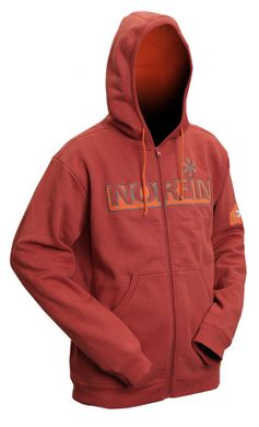 Куртка флисовая Norfin Hoody Red (терракот) р.S